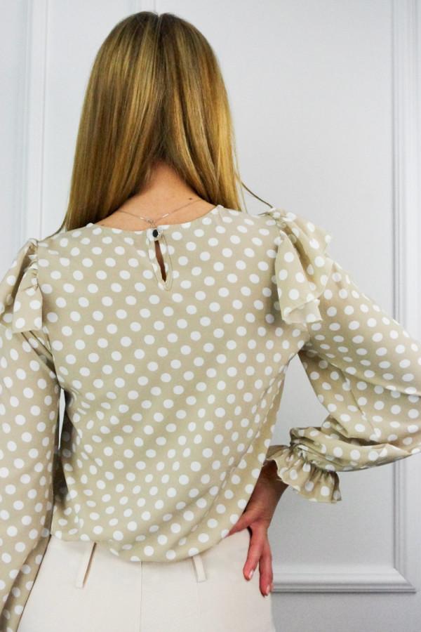 Bluzka w kropki Lydie 1