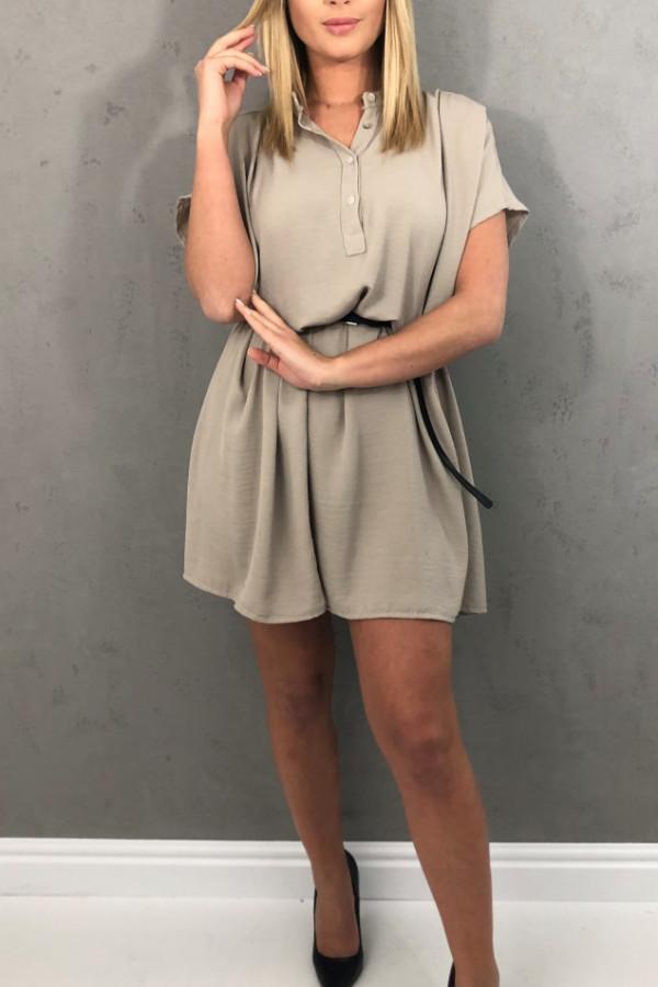 Sukienka Greta Beżowa