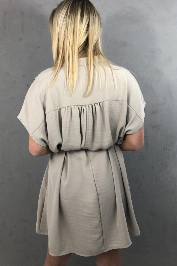 Sukienka Greta Beżowa 2