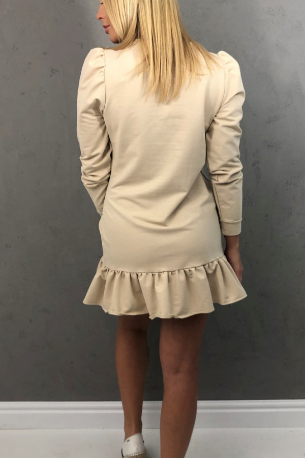 Sukienka Enrica Beżowa 1