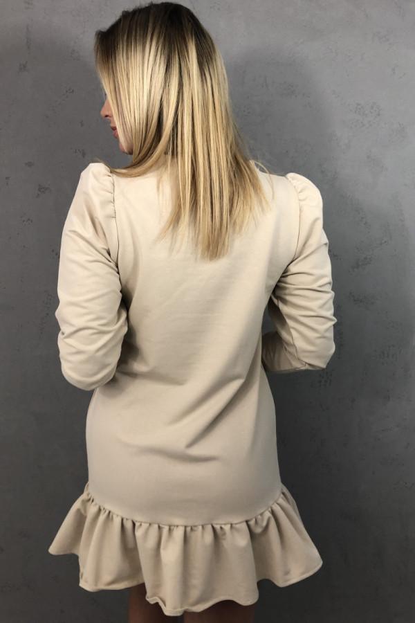 Sukienka Enrica Beżowa 3