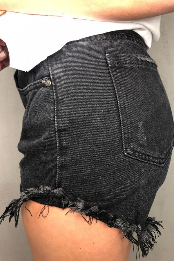 Spodenki Jerry Jeans Black 1
