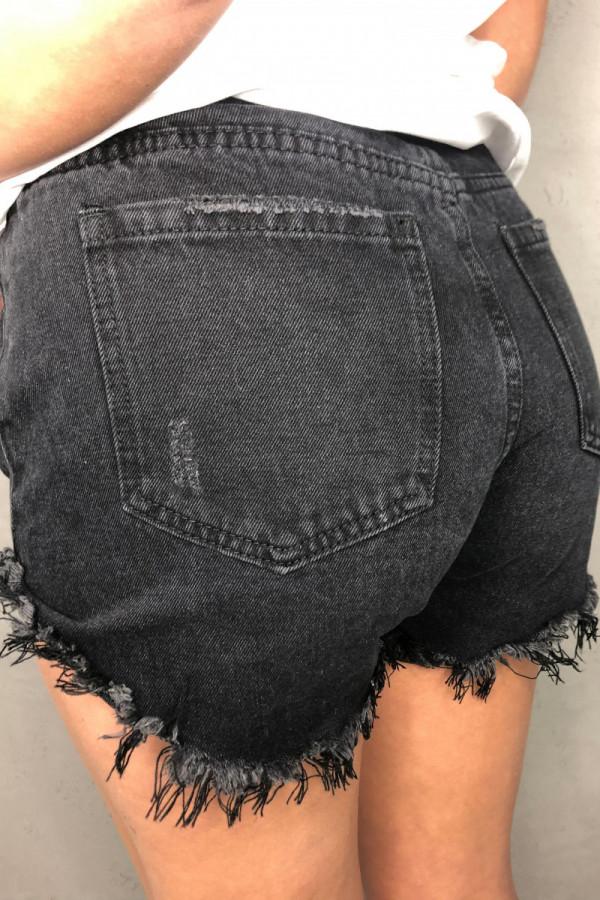 Spodenki Jerry Jeans Black 2