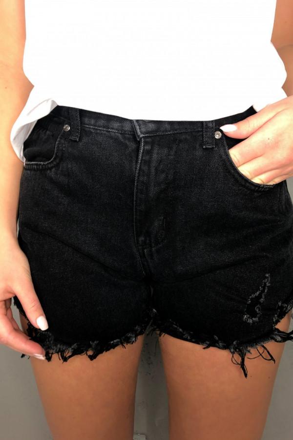 Spodenki Jerry Jeans Black 3