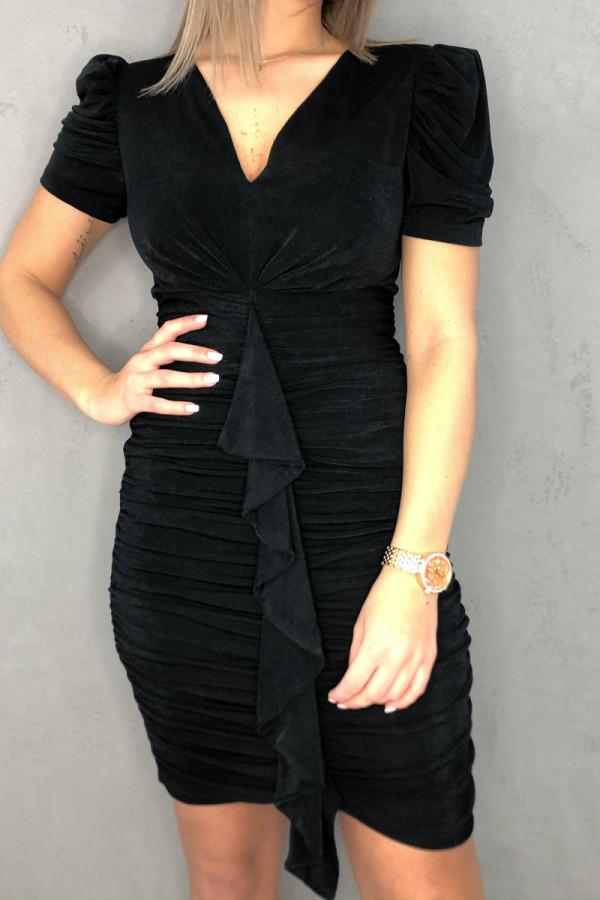 Sukienka Czarna Elise 3
