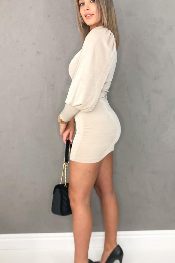 Sukienka Monique Beż 1