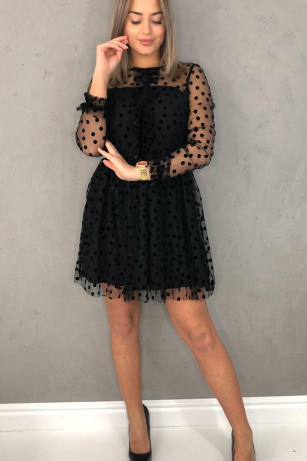 Sukienka Rita Czarna 1