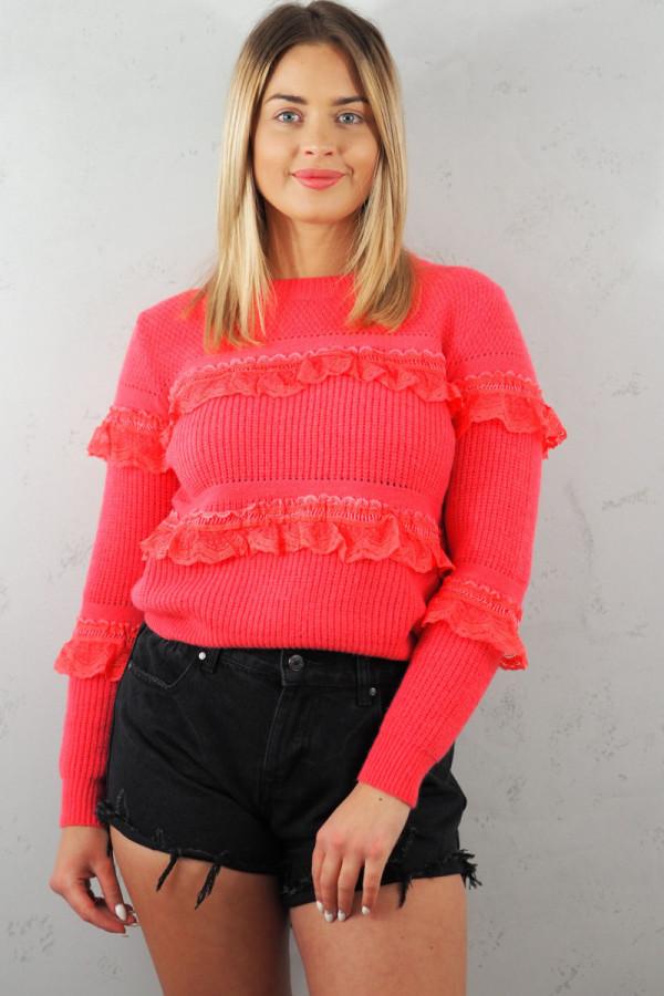 Sweter Verona Czerwony 1