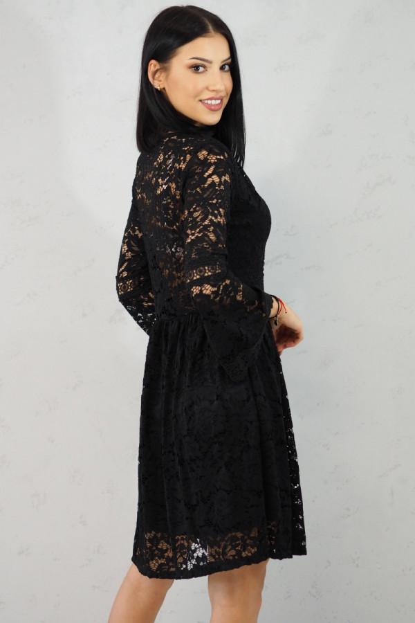 sukienka czarna koronkowa luka 2