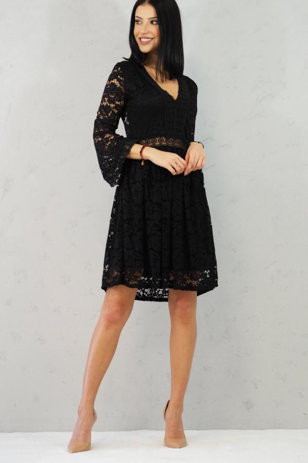 sukienka czarna koronkowa luka 5