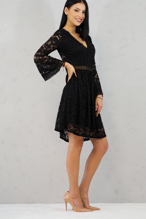 sukienka czarna koronkowa luka 6