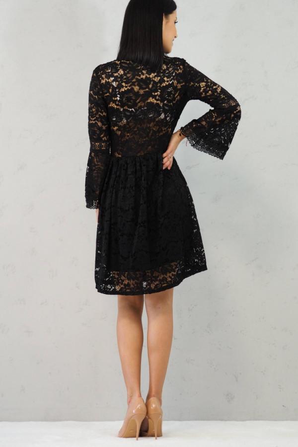 sukienka czarna koronkowa luka 7