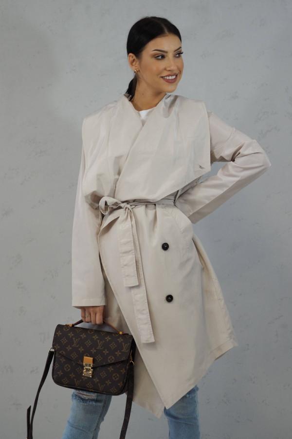 Płaszcz Noelle Ecru 1