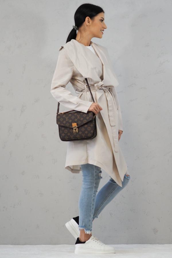 Płaszcz Noelle Ecru 3