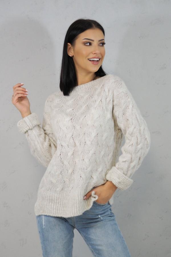 Sweter biały Debora