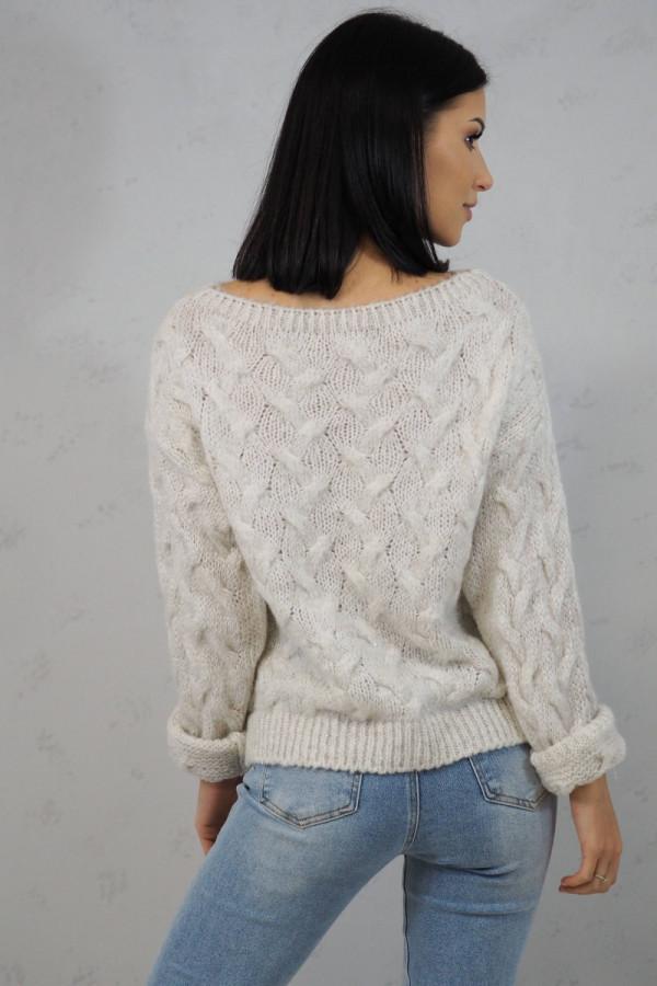 Sweter biały Debora 1