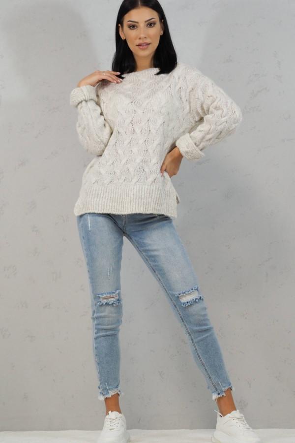 Sweter biały Debora 3