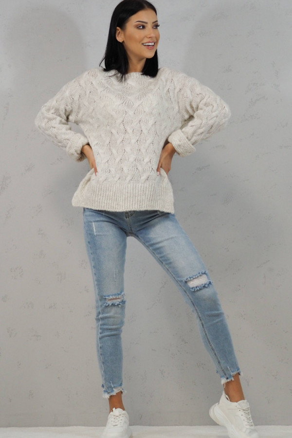 Sweter biały Debora 4