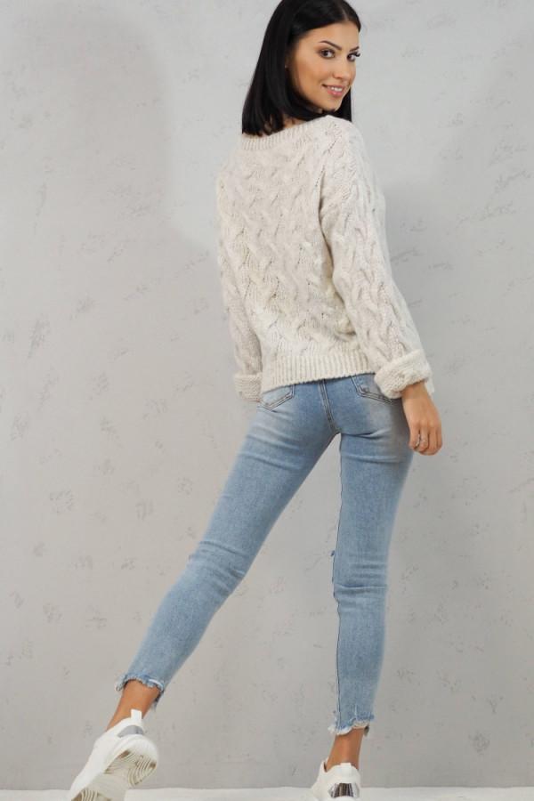 Sweter biały Debora 5
