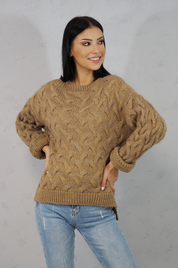 Sweter brązowy Debora