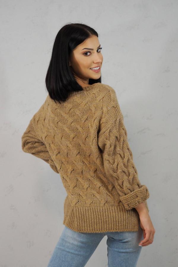 Sweter brązowy Debora 2