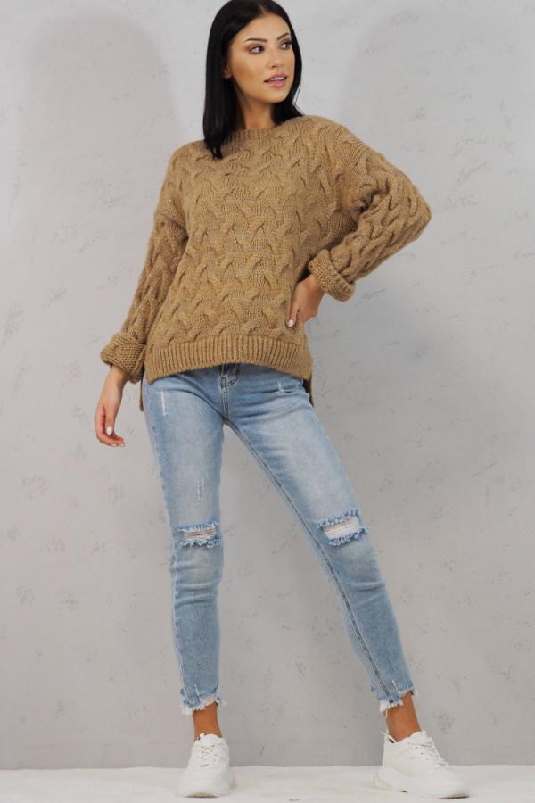 Sweter brązowy Debora 3