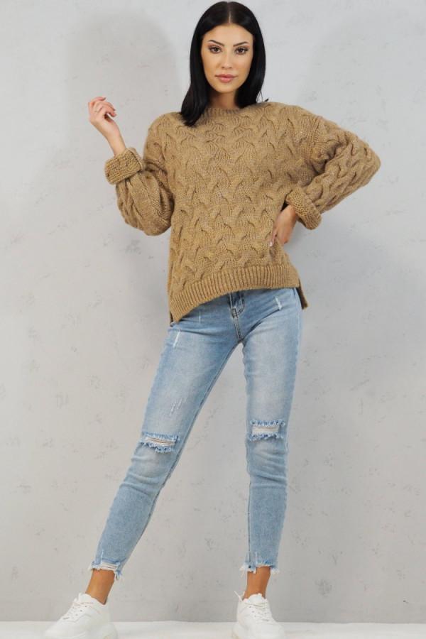 Sweter brązowy Debora 4