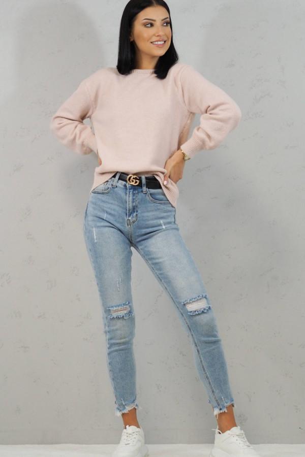 Sweter Cindy Różowy 5
