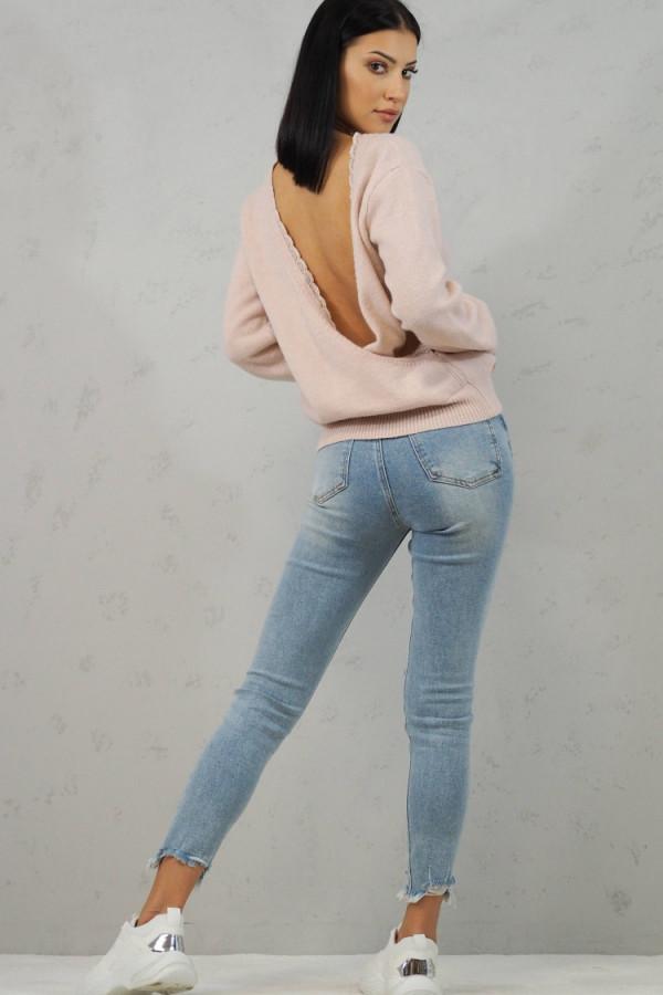 Sweter Cindy Różowy 6