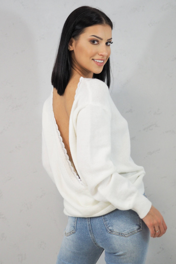 Sweter Cindy White 1