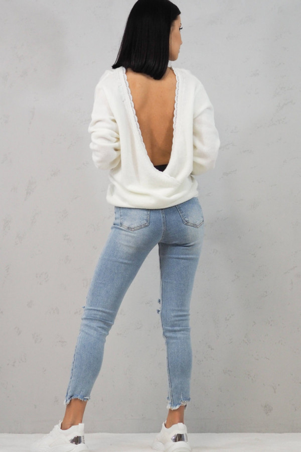 Sweter Cindy White 3