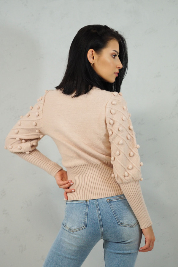 Sweter Beżowy Anell 2