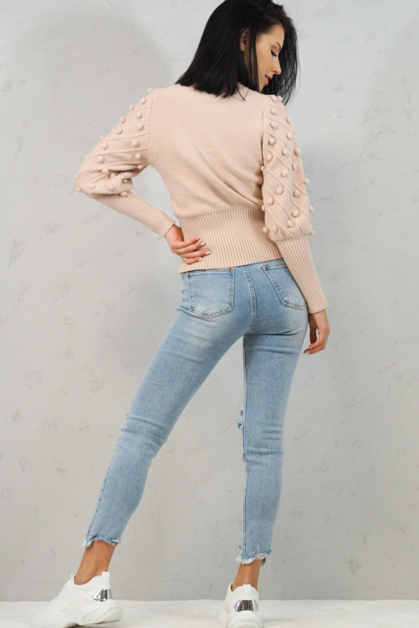 Sweter Beżowy Anell 5