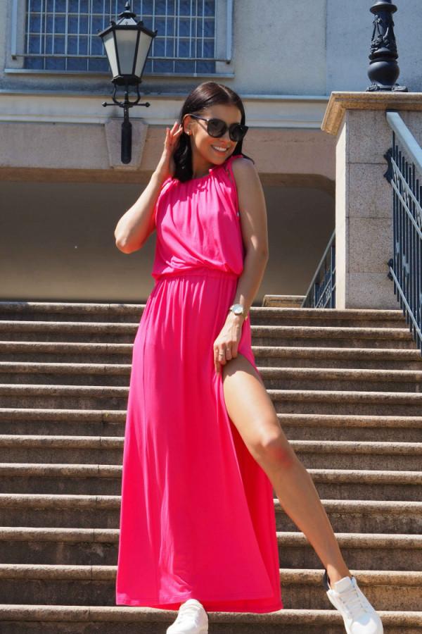 Sukienka wieczorowa różowa