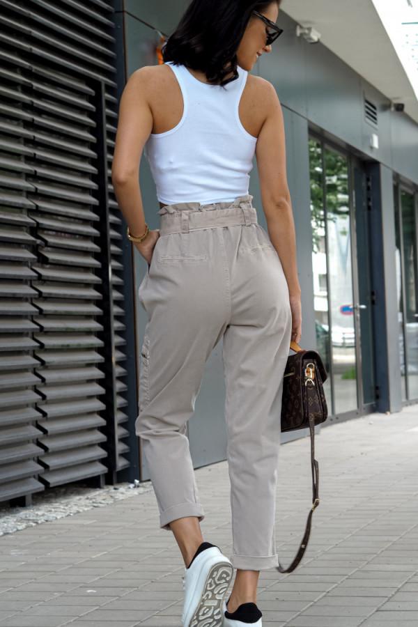 Spodnie Ophelie Brązowe 3