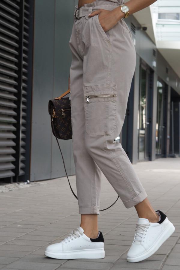 Spodnie Ophelie Brązowe 7