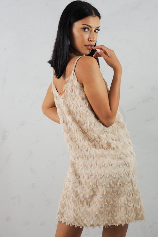 Sukienka beżowa Sori 3