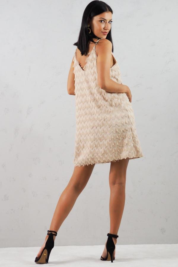 Sukienka beżowa Sori 7