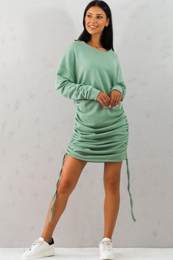 Bluza zielona z sciągaczem Jeanne 2