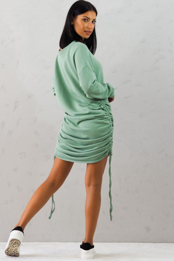 Bluza zielona z sciągaczem Jeanne 3