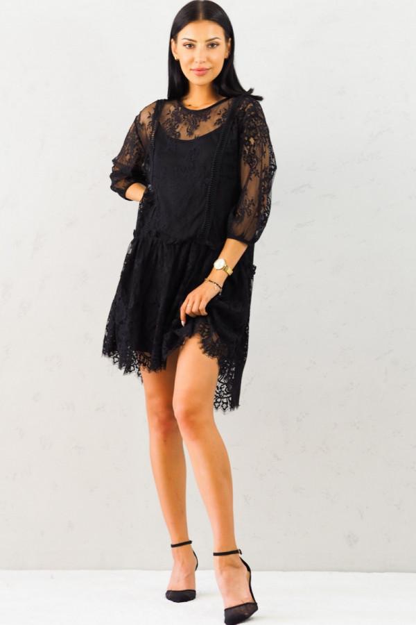Sukienka Dara Czarna 1