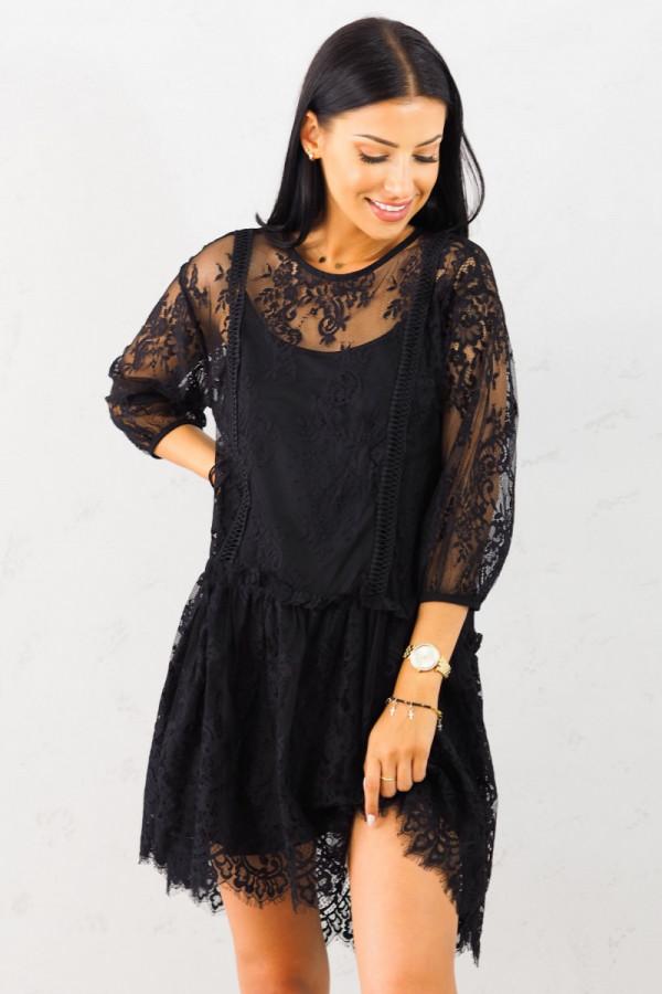 Sukienka Dara Czarna 6