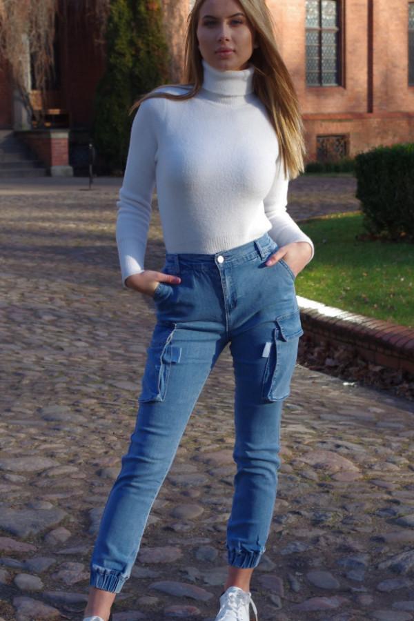Spodnie Bojówki Crown Jeans 4