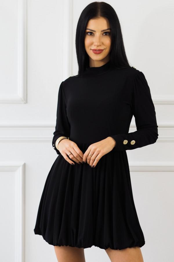 Czarna sukienka Matylda 1