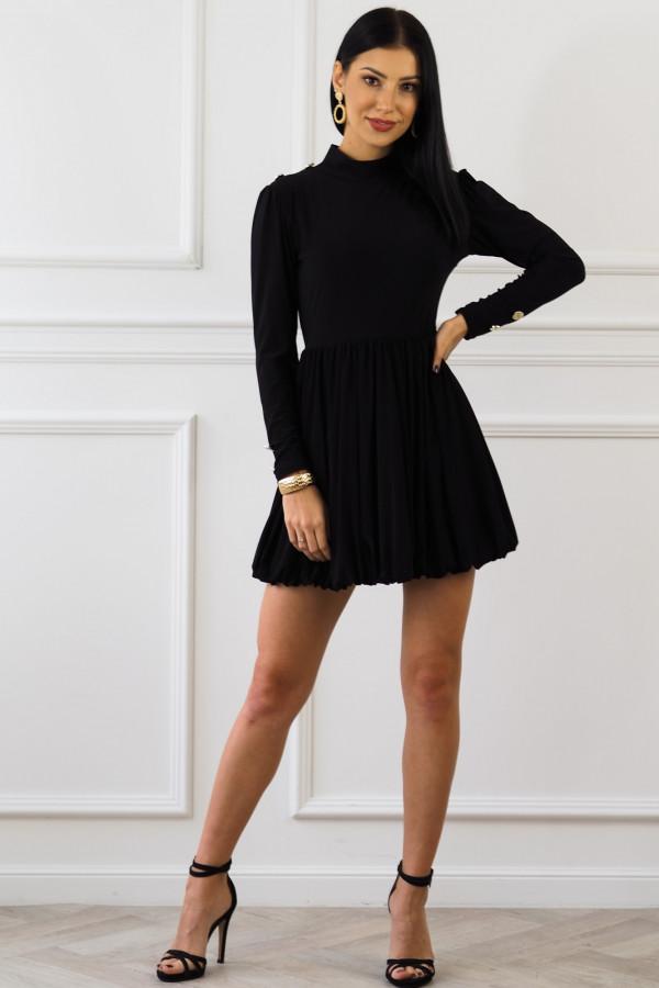 Czarna sukienka Matylda 5