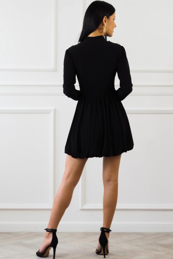 Czarna sukienka Matylda 6