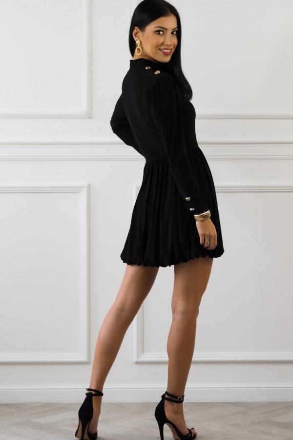Czarna sukienka Matylda 7