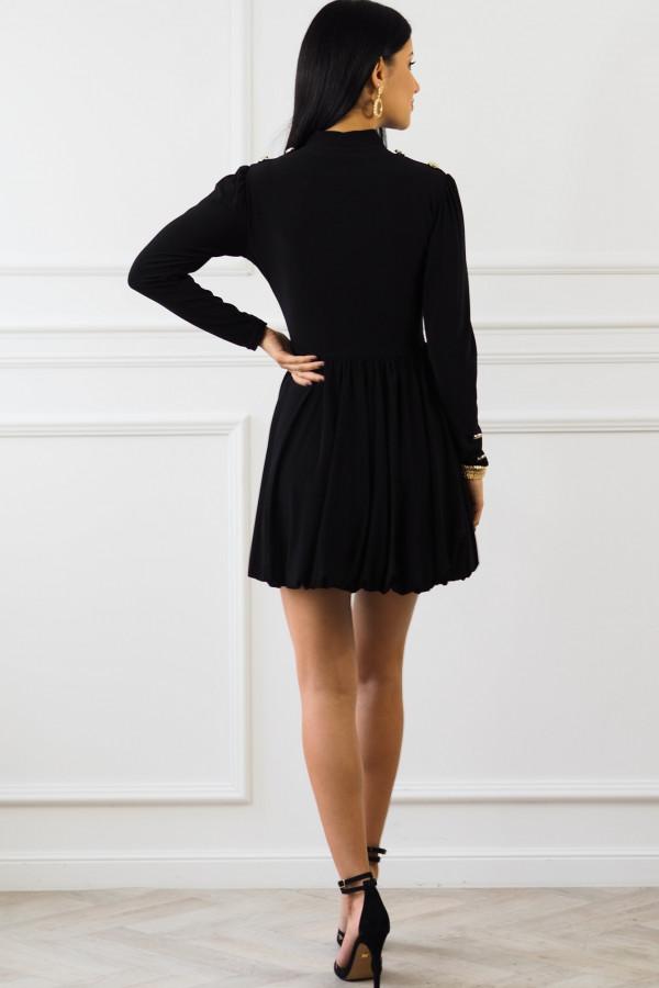 Czarna sukienka Matylda 8