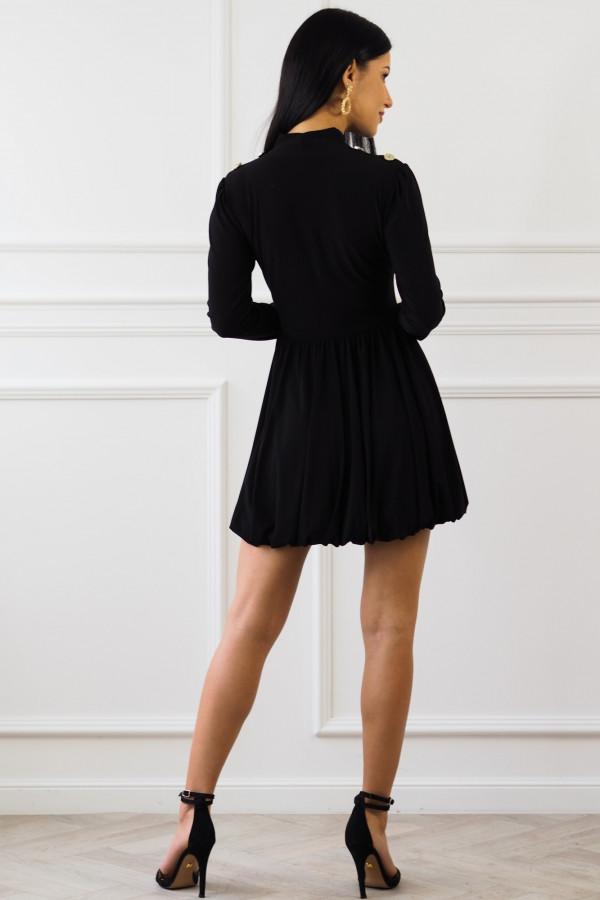 Czarna sukienka Matylda 9