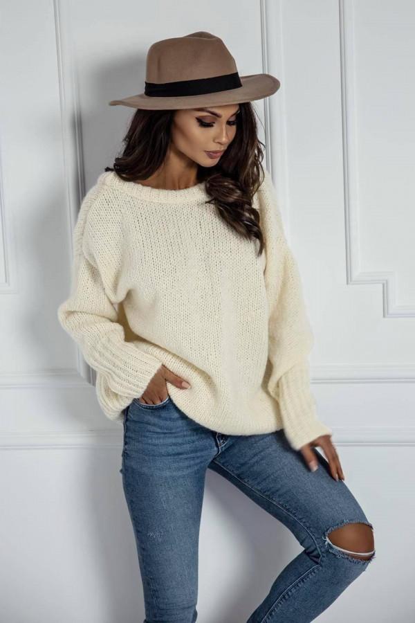Biały sweter Lesca